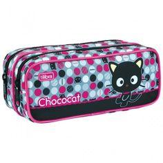 Chococat Chococat Estojo Duplo Grande Chococat - Tilibra  R$ 44,99