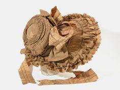 Bonnet 1830 Killerton Fashion Collection © National Trust / Sophia Farley and Renée Harvey