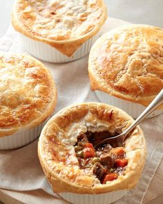delicious prepared beef pot pies  http://rstyle.me/n/nn85epdpe