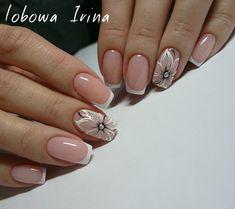 1000 Идей маникюра | Дизайн ногтей French Nail Designs, Nail Art Designs, French Nails, Pretty Nails, Fun Nails, New Nail Colors, Finger, Luxury Nails, Nail Art Stickers