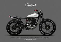 Yamaha SR 250 by Overboldmotor