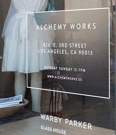 Alchemy Works - Los Angeles | TINA FREY DESIGNS