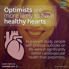 Optimist and the heart.