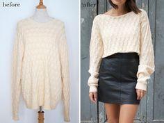 riciclo maglione