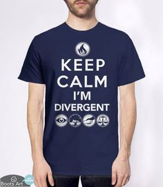 Keep Calm I'm Divergent (T-Shirt)