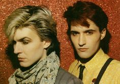 Japan. Brothers David Sylvian and Steve Jansen (both born with the last name Batt) who formed the band Japan.