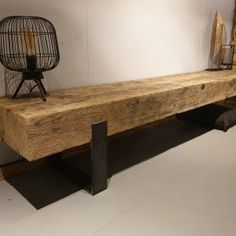 Live Edge Shelves, Tv Bench, Outdoor Furniture, Outdoor Decor, Console Table, Beams, Home Office, Lounge, Living Room