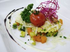 #Ravioli with vegetables and parmesan :-)