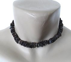 "Hawaiian Jewelry 16"" Dark Chip Puka Shell Necklace From Hawaii. Hawaiian jewelry 16"" dark chip puka shell necklace from Hawaii. Length: 16"". Sturdy Twist-Barrel Lock. 9-10mm Super Class 'A' Quality Hand-Sorted Shells."