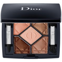 Dior 5-Colour Eyeshadow Eye ($62) ❤ liked on Polyvore featuring beauty products, makeup, eye makeup, eyeshadow and palette eyeshadow