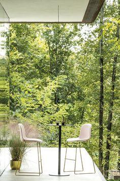 Arrmet's Máni Fabric ST-SL, photo by Eyestudio, 2018 Indoor, Wood, Plants, Home Decor, Chairs, Inspirational, Design, Fabric, Interior