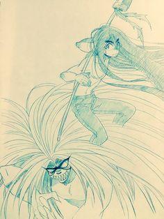 誤文字@舞台版うしおととらはいいぞ(@gomozi)さん | Twitter Ushio To Tora, Manhwa, Anime Art, Pokemon, Novels, Cartoon, Comics, Twitter, Drawings