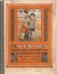 Ligthart, Jan Scheepstra H. Pim en Mien. Kinderboeken Jeugd onder 10 jaar.Marktplaats.nl