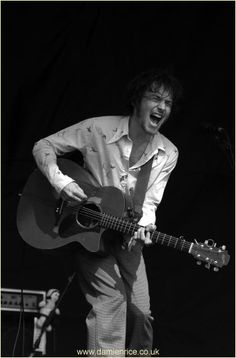 Damien Rice. He never compromises his music for anyone and I love that.