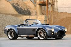 If you're a Cobra Cultist, your heart will skip a beat or two when you see this one. Although not built by Shelby, the Superformance MKIII R Cobra has Ford Gt, Ford Mustang, Us Cars, Sport Cars, Ac Cobra 427, Muscle Cars, Shelby Gt 500, Hot Rods, Amazing Cars