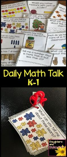 Daily Math Talks in Kindergarten