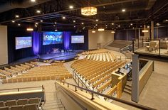 Community Christian Church: Auditorium | Aspen Group | Building For Ministry