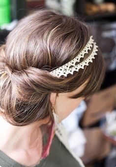 4. Bun into a Headband - 7 Hairstyles for Humid Weather so You Don't Feel Icky ... → Hair