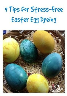 9 Easter Egg Dyeing Tricks for the Mom Who Hates Dyeing Eggs (PHOTOS)