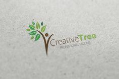 Creative Tree Logo  by fastudiomedia on @creativemarket