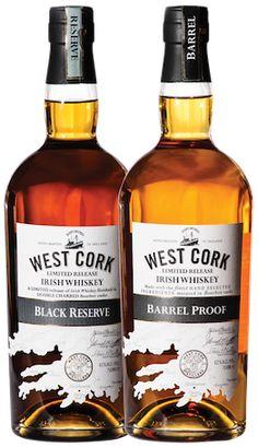 West Cork announces two new Irish whiskeys. #Whiskey #IrishWhiskey | #Cheers Magazine