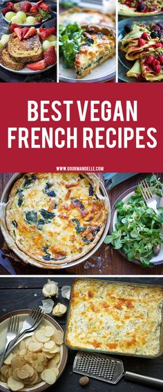 French Cuisine | A guide for the most popular French recipes - A glass of red wine accompanied by cheese and baguette. Yes, that's quintessentially French cuisine that has won the hearts of millions of people across the world. However, there are more to French food than wine and cheese. #french #guide #recipes