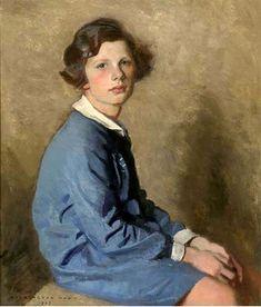 Portrait Of A Young Girl, Harrington Mann