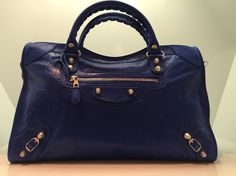 Balenciaga City nickel in cobalt blue ❤️