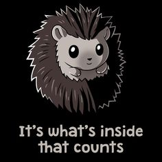 It's What's Inside That Counts T-Shirt TeeTurtle