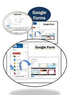 • Google Drive is the new home for Google Docs • Create and share your work online and access your documents from anywhere • Google Forms is a useful tool to help you plan events, send a survey or give students a quiz.