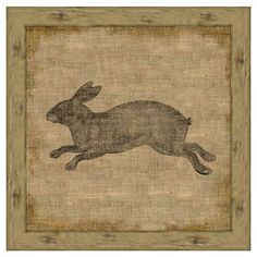 I pinned this Garden Rabbit II Print from the Garden Gallery event at Joss and Main!
