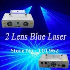 188.00$  Buy here - http://ali84u.worldwells.pw/go.php?t=540693690 - DJ disco stage lighting 2 lens blue color  DMX laser show system