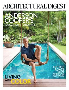 Pin for Later: Anderson Cooper's Breathtaking Hideaway Will Make You Want to Move to Brazil