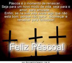 Mensagem Feliz Páscoa