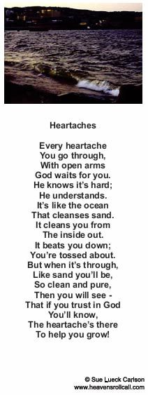 Heartaches Encouraging Poems, Inspirational Poems, Poem About Death, Christian Poems, Miss Mom, Loved One In Heaven, Sympathy Quotes, Death Quotes, Beautiful Poetry