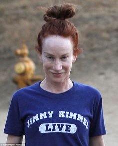 So underneath all the cosmetic surgery and makeup, Kathy Griffin is actually Richard D. James.