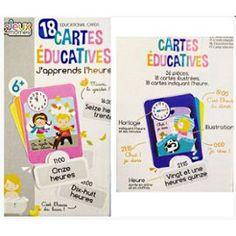 SET 18 CARTES EDUCATIVES J APPRENDS L HEURE 36 PCS JEU  9.98€ LIVRAISON GRATUITE http://www.priceminister.com/offer?action=desc&aid=2670388564&productid=1254983887
