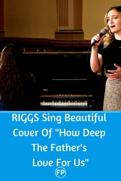 RIGGS sing a stunning cover of Stuart Townsend's How Deep The Father's Love For Us.""