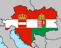 hungary austria map