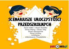 Archiwa: Scenariusze do pobrania - Pani Monia Baby Prints, Techno, Kindergarten, Preschool, Education, Movie Posters, Speech Language Therapy, Therapy, Literatura