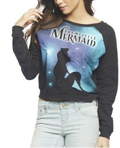 Disney The Little Mermaid Galaxy Sweater (S) #Disney #Crewneck