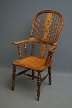 Victorian Windsor Chair: http://www.antiquestovintage.com/ads/victorian-windsor-chair/