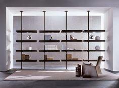 Domino expo Bibliothèque de Porada | Étagères