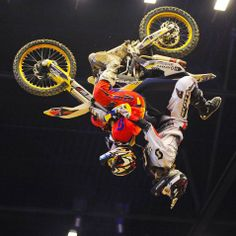 #SCOTT #MotosportsHave a look at the world's first tandem nac-nac flip. Not a bad way to finish off the 20th Anniversary of the Herning #Supercross featuring FMX4EVER.com!