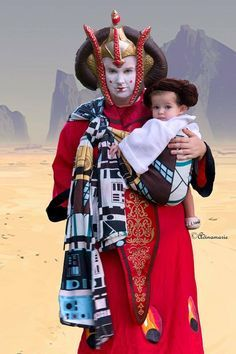 Queen Amidala and Baby Princess Leia won the 2015 Babywearing Costume Contest: https://www.facebook.com/media/set/?set=a.1214063685275371.1073741918.127323970616020&type=3