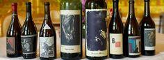 Sine Qua Non wines sport distinctive bottles and labels