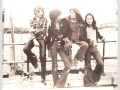 rare irish photos - thin lizzy, rory gallagher, guinness
