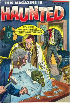 Comic Book Cover For This Magazine Is Haunted v3 #13
