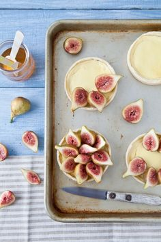 Fig and Goat Cheese Tartlets Recipe (instructions on how to make a gluten-free alternative)