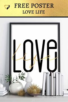 LOVE THIS! LOVE LIFE ... Every day is a gift and we should love our lives even when it seems hard. #Inspiration #Motivation #Reflection #Poster #FREEBIE #UNIQUE #lovelife